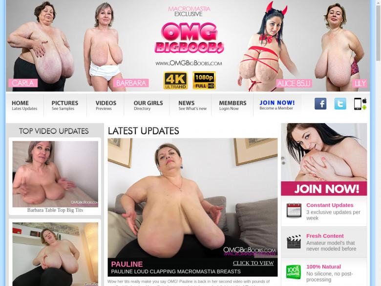 Big boobs omg Introducing Pretty,
